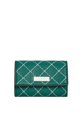 MANGO Contrast seam wallet