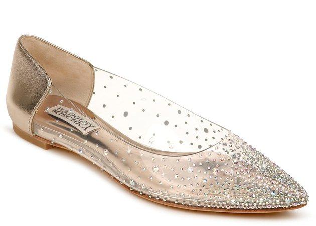 Gabi Embellished Pointed Toe Flat