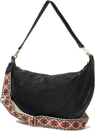 Luna Vegan Leather Crossbody Bag