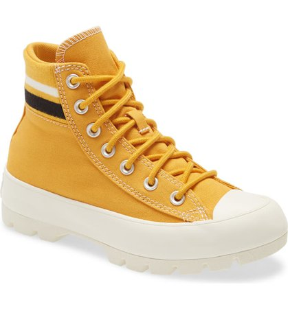 Converse All Star® Varsity Lugged Platform High Top Sneaker (Women) | Nordstrom