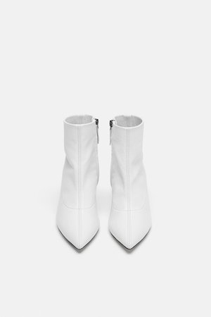 LEATHER MID - HEEL ANKLE BOOTS-Shoes | Bags-TIMELESS-WOMAN-CORNER SHOPS | ZARA United Kingdom