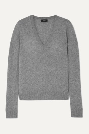 Gray Cashmere sweater | Theory | NET-A-PORTER
