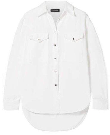 The Classic Cotton-twill Shirt - White