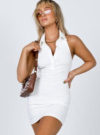 Sarsha MinI Dress White