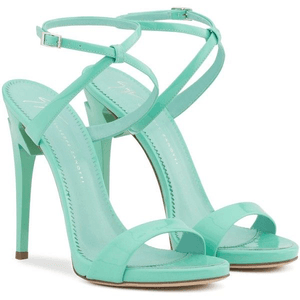 mint green sandal heels