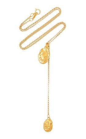 The Lunar Rocks 24k Gold-Plated Necklace By Alighieri | Moda Operandi