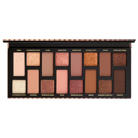 Born This Way The Natural Nudes Eyeshadow Palette - Too Faced | Sephora