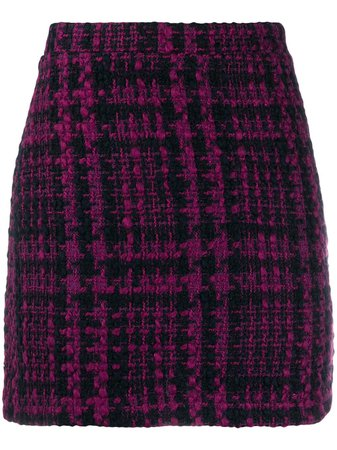 Andamane | Bertha tweed mini skirt