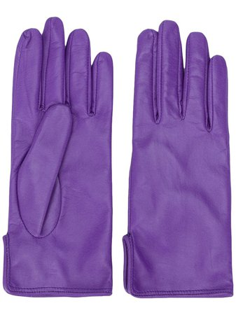 MSGM Leather Driving Gloves - Farfetch