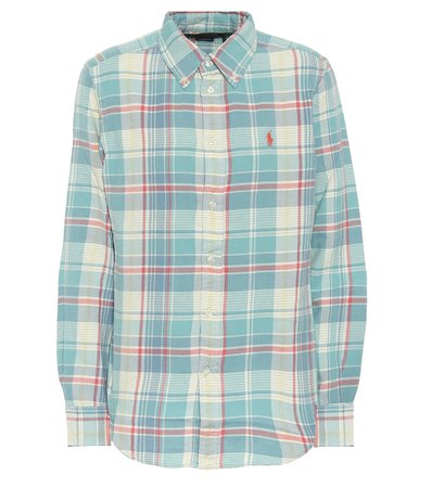 Polo Ralph Lauren - Checked cotton shirt | Mytheresa