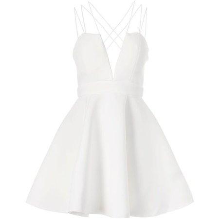 Multi Strap Prom Dress by Rare