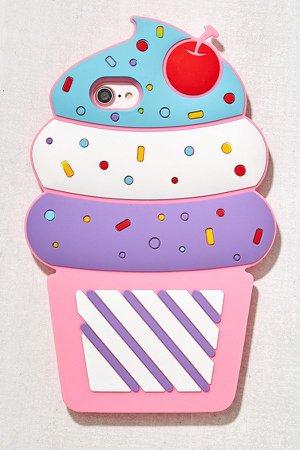 Dabney Lee Ice Cream Silicone iPhone 8/7/6 Case