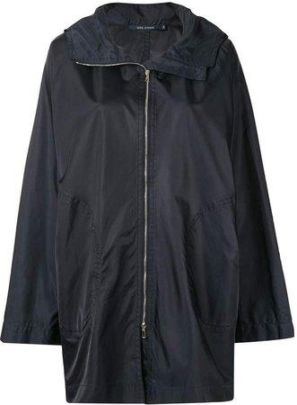 Clem hooded raincoat