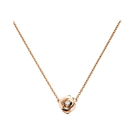 Piaget Gold Rose Nevklace
