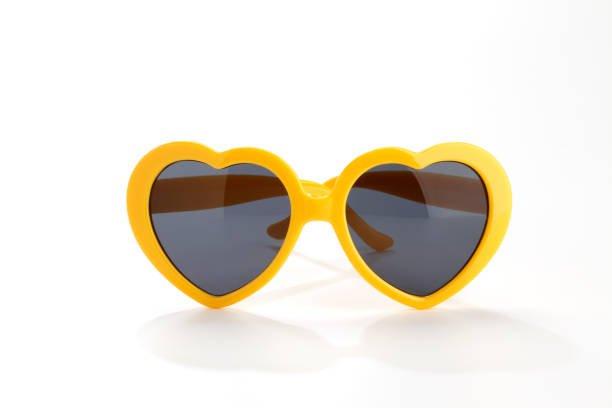 Free heart yellow