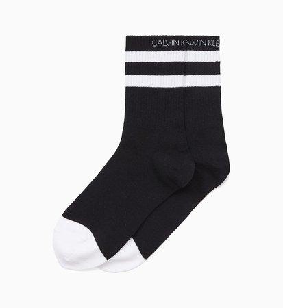 Striped Crew Socks CALVIN KLEIN® | 0000ECG600010