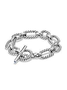 Shop David Yurman Chain Madison Sterling Silver Bracelet | Saks Fifth Avenue