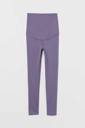 MAMA Sports Leggings - Purple