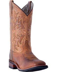 Laredo Women's Anita Cowgirl Boots - Square Toe   Boot Barn