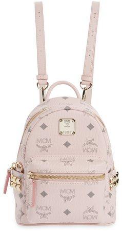 Mini Stark Stud Coated Canvas Backpack