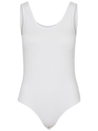 Tank Bodysuit   WHITE