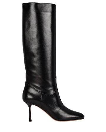 Francesco Russo Leather 75 Knee-High Boots | INTERMIX®