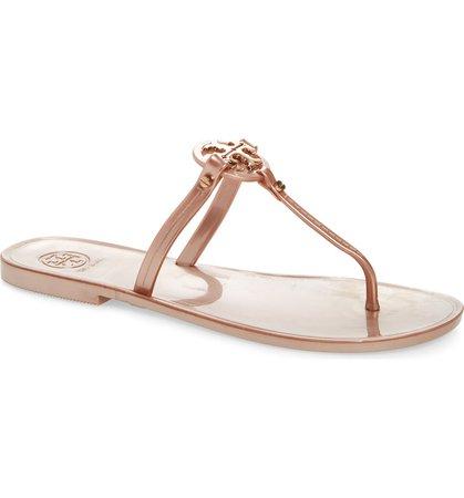 Tory Burch 'Mini Miller' Flat Sandal (Women) | Nordstrom