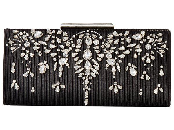 Badgley Mischka - Gale Clutch (Black) Clutch Handbags