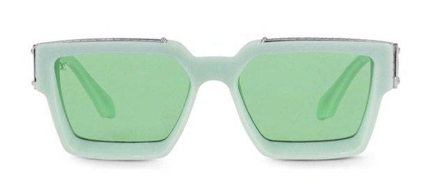 Louis Vuitton 1.1 millionaires sunglasses pale green