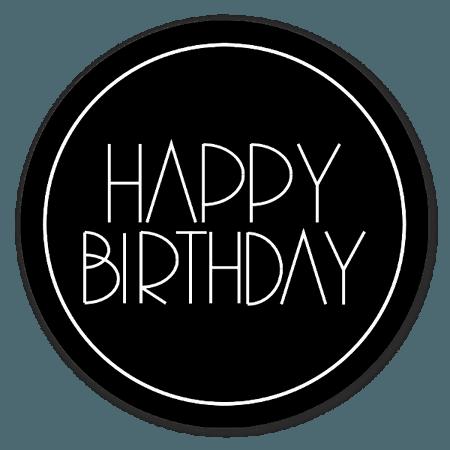 Happy birthday! - StickerApp