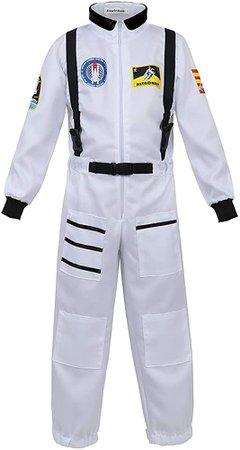 Amazon.com: Haorugut Astronaut Costume for Kids White XL: Clothing