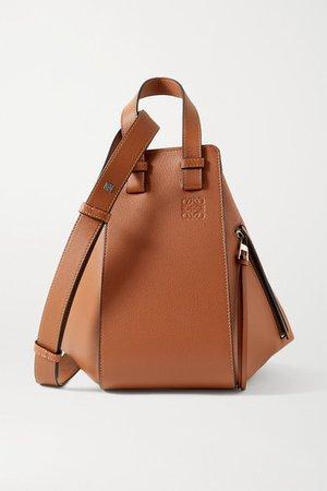 Hammock Small Textured-leather Shoulder Bag - Tan