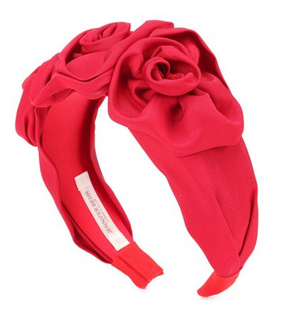 Triple Rosette headband