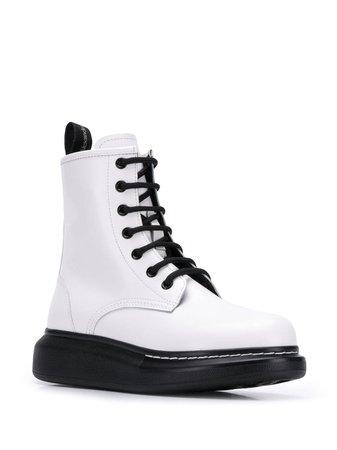 Alexander Mcqueen Platform Ankle Boots   Farfetch.com