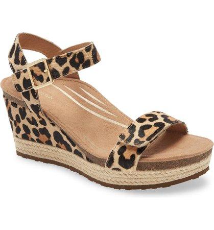 Aetrex Sydney Espadrille Wedge Sandal (Women) | Nordstrom