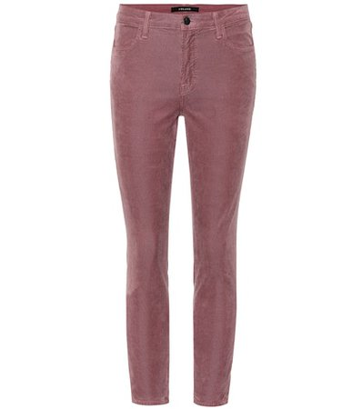 Alana cropped high-rise skinny jeans