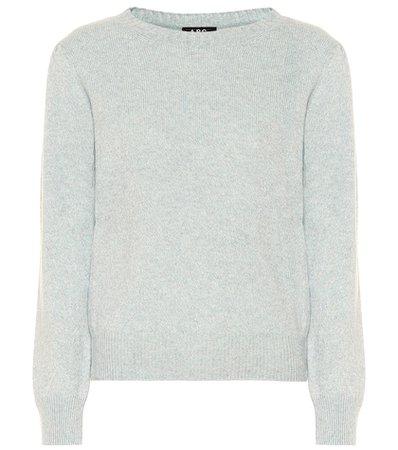 Lauren wool and cotton sweater
