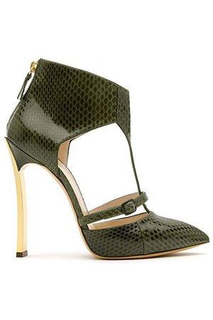green casadei shoes