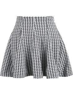 (17) Pinterest - Grey High Waist Pleated Skirt - Sheinside.com | Style Inspo