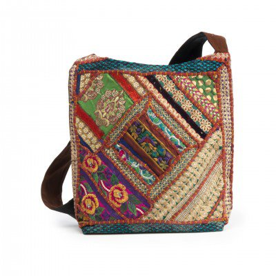 Surya Boho Embroidered Handbag – Mystic Self LLC