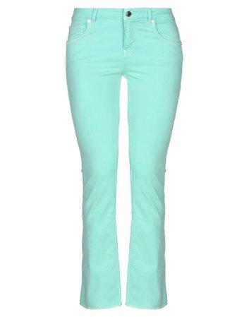 Silvian Heach Denim Pants - Women Silvian Heach Denim Pants online on YOOX United States - 42767609FM