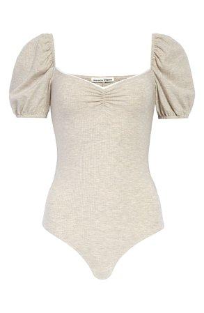 Reformation Rochelle Puff Sleeve Bodysuit | Nordstrom
