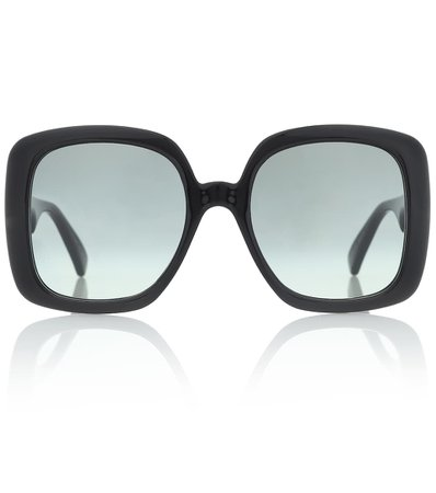 Oversized Acetate Sunglasses | Gucci - Mytheresa