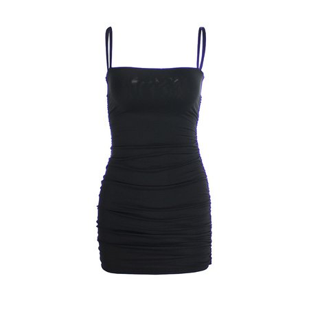 Articat Black Sexy Bodycon Summer Dress 2019 Strapless Spaghetti Strap Bandage Mini Dress Party Casual Basic Beach Dress Short-in Dresses from Women's Clothing on AliExpress