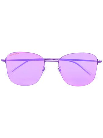 Balenciaga Eyewear Invisible square-frame Sunglasses - Farfetch