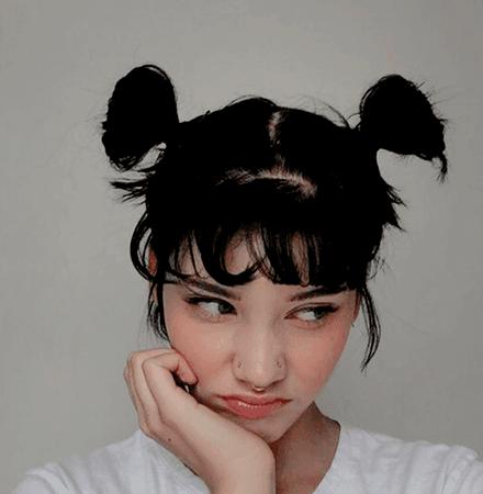 Black pigtails