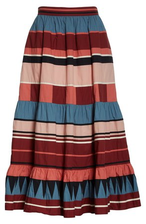 Ulla Johnson Simi Stripe Skirt | Nordstrom