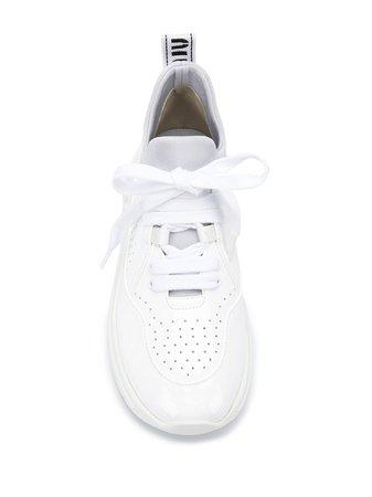 Miu Miu Perforated low-top Sneakers - Farfetch