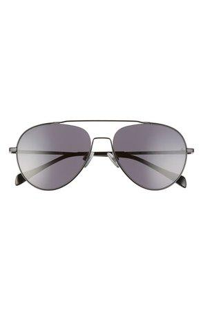 rag & bone 58mm Polarized Aviator Sunglasses | Nordstrom