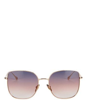 Isabel Marant Edgy Gradient Cat Eye Sunglasses   INTERMIX®